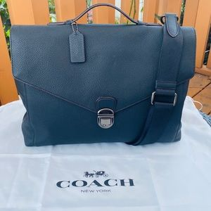 COACH Metropolitan Soft Push Lock Brief | Boutique